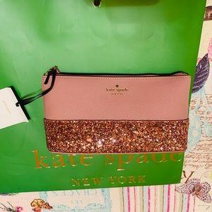 Kate Spade Greta Court Cosmetic Bag Make Up Case